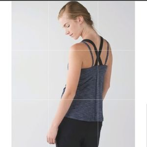 "Lululemon ""RUN FOR GOLD"" Tank Top 8"